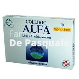 Collirio Alfa*10cont 0,3ml