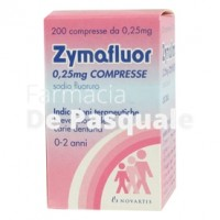 Zymafluor*200cpr 0,25mg
