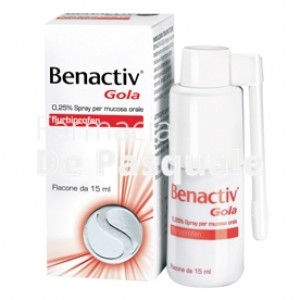 Benactiv Gola*spray 15ml 0,25%