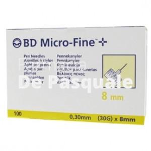 Ago Bd Microfine G30 8mm 100pz