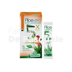 Aloe 5x C/antiossidanti 14bust